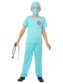 Chirurgen kostuum jongen