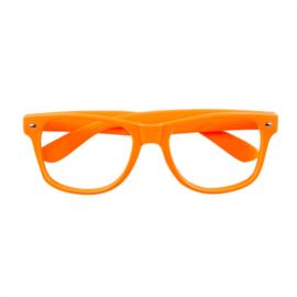 Partybril | neon oranje