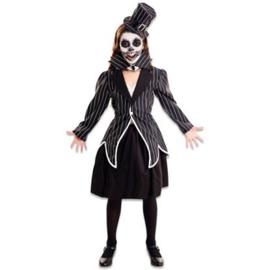 Skelet elegant meisje