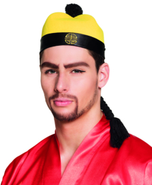 Japans hoed Xiu met vlecht