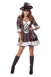 Pirate jurk deluxe