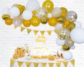 Ballonnen decoratie set luxe | goud