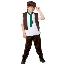 Dickens kostuum jongen