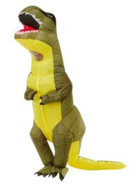 T-rex kostuum opblaasbaar