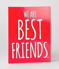 Fun suprise kaart best friends
