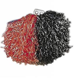Cheerball rood en zwart