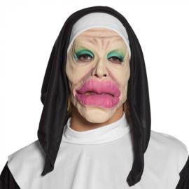 Latex masker Holy lips Non