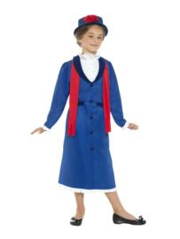Victoriaans nanny jurk