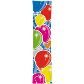 Feest banner ballonnen
