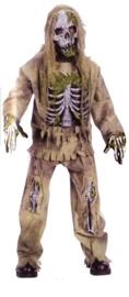 Skeleton zombie kinderen