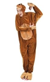 Apen kostuum plushe