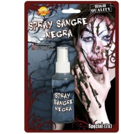 Zombie bloedspray zwart