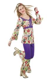 70's blossom lady | hippie kostuum
