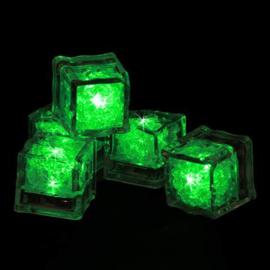 LED ijsblokjes groen