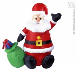 Opblaasbare kerstman decoratie 122cm