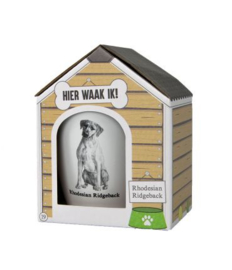 Dog mug - Rhodesian Ridgeback | Honden mok