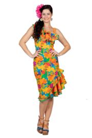 Hawaiiaanse jurk bloem