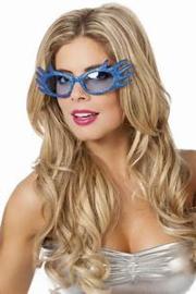 Bril edna blauw dames