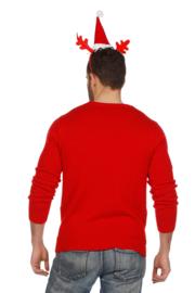 kerst trui rood rendieren