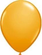 Kwaliteitsballon standaard - oranje - 10 stuks