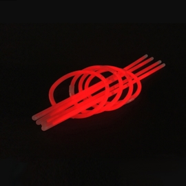 Glow sticks rood 100 stuks