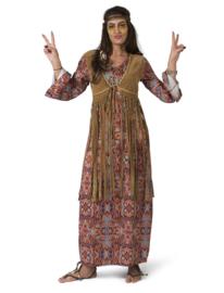 Happy hippie lady liberty jurk   Hippy jurkje