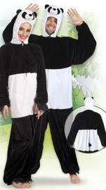 Plushe panda kostuum