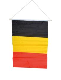 Hangende vlag Belgie 40x60cm