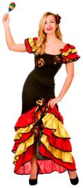 Spaanse rumba jurk