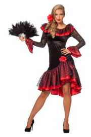 Spaanse dames jurk
