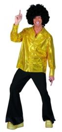 Glitter shirt goud / gold