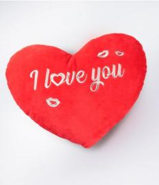 Hart kussen - I love you