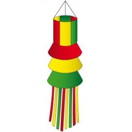 Windsock rood/geel/ groen