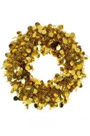 Deurkrans 45 cm Goud