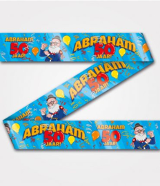 Party Tape - Abraham 50 jaar  cartoon | Afzetlint