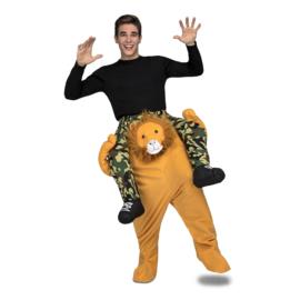Leeuw ride on kostuum