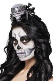 Tiara glitter skull