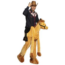 Gedragen paard kostuum