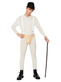 Jazz dance body suit man compleet