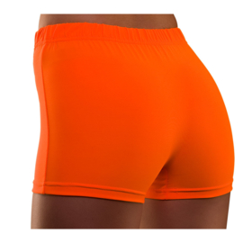 Hot pants neon oranje