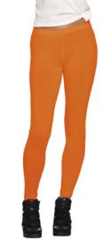 Oranje neon legging