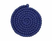 Wolcrepe blauw 100cm