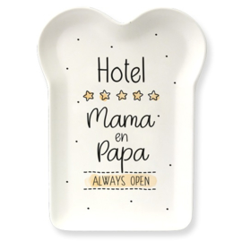 Bamboe Bordje - Mama & Papa | cadeautje