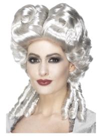 Pruik Marie Antoinette deluxe