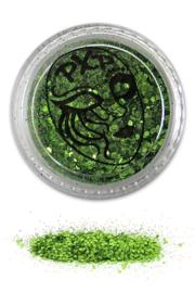 Glitters tropical green fijn