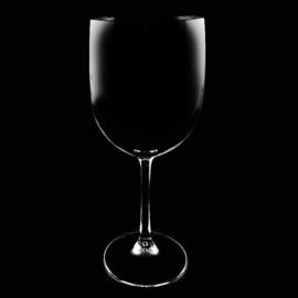 Wijnglas Kunststof wijnglazen  Plastic glazen Transparant 48cl  6 stuks  