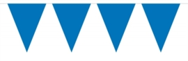 Vlaggenlijn effen blauw