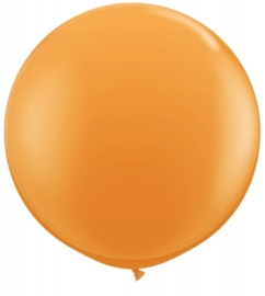 Ballon 90cm oranje qualatex