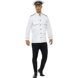 Kapiteins jasje wit