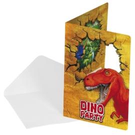 Uitnodigingen Dinosaurus